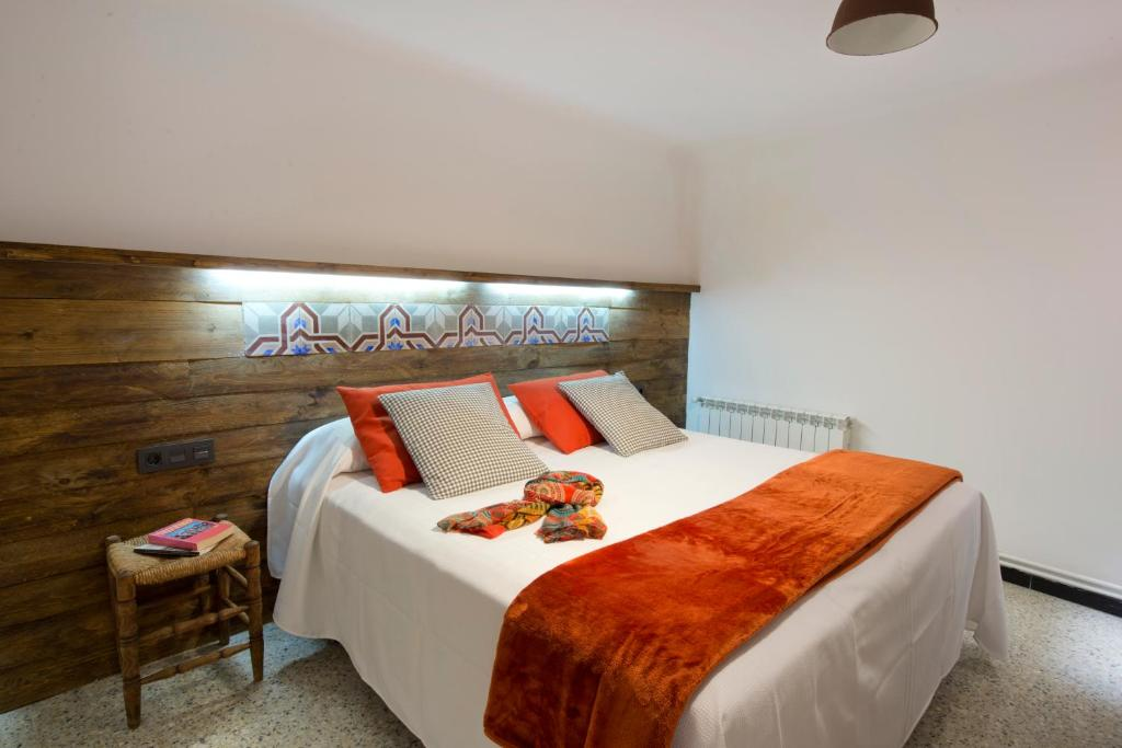 Cama o camas de una habitación en Apartments Mo