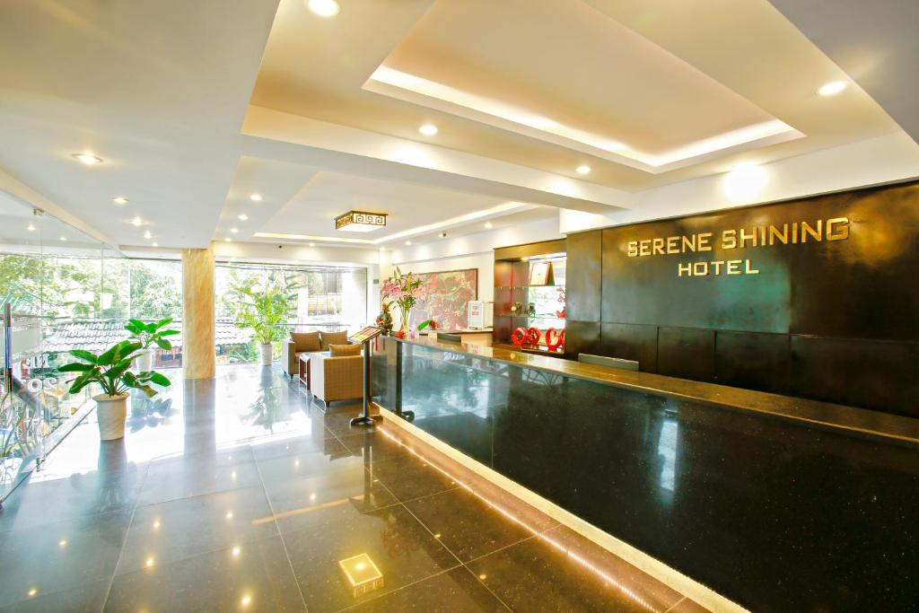 The lobby or reception area at Serene Shining Hotel & Spa