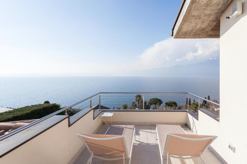 A balcony or terrace at Villa Sofia