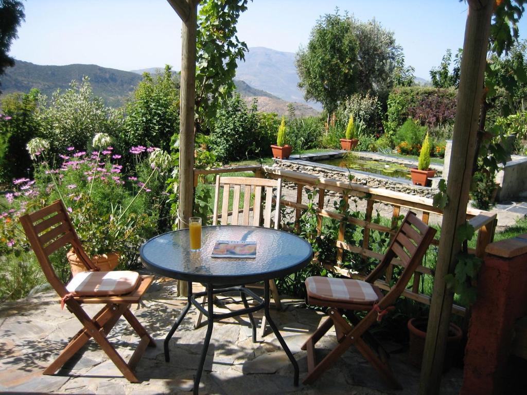 A balcony or terrace at Cortijo Opazo