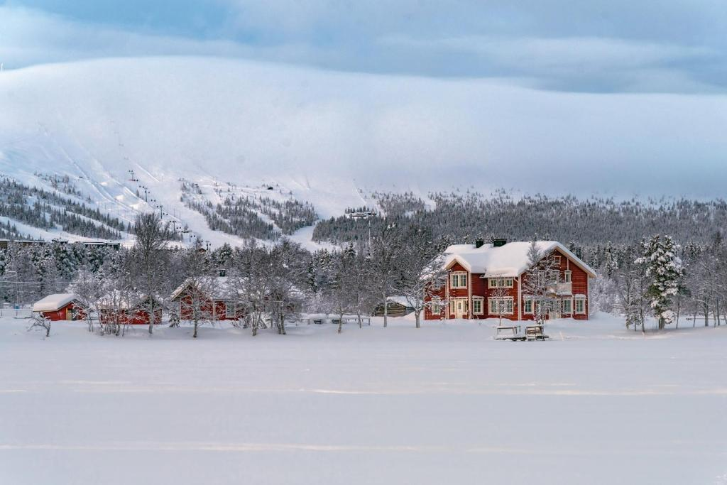 Aurora Estate during the winter