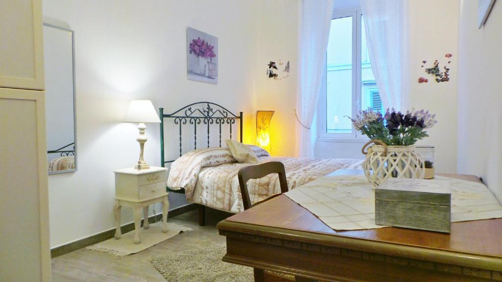 Letto o letti in una camera di Cuore di Testaccio Apartment