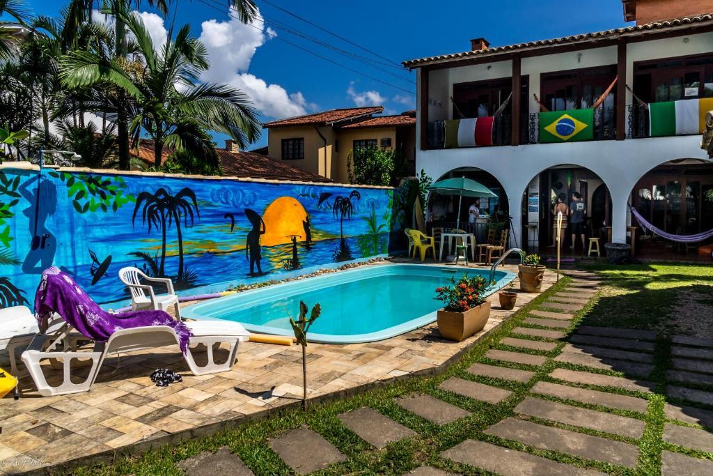A piscina em ou perto de Geckos Hostel