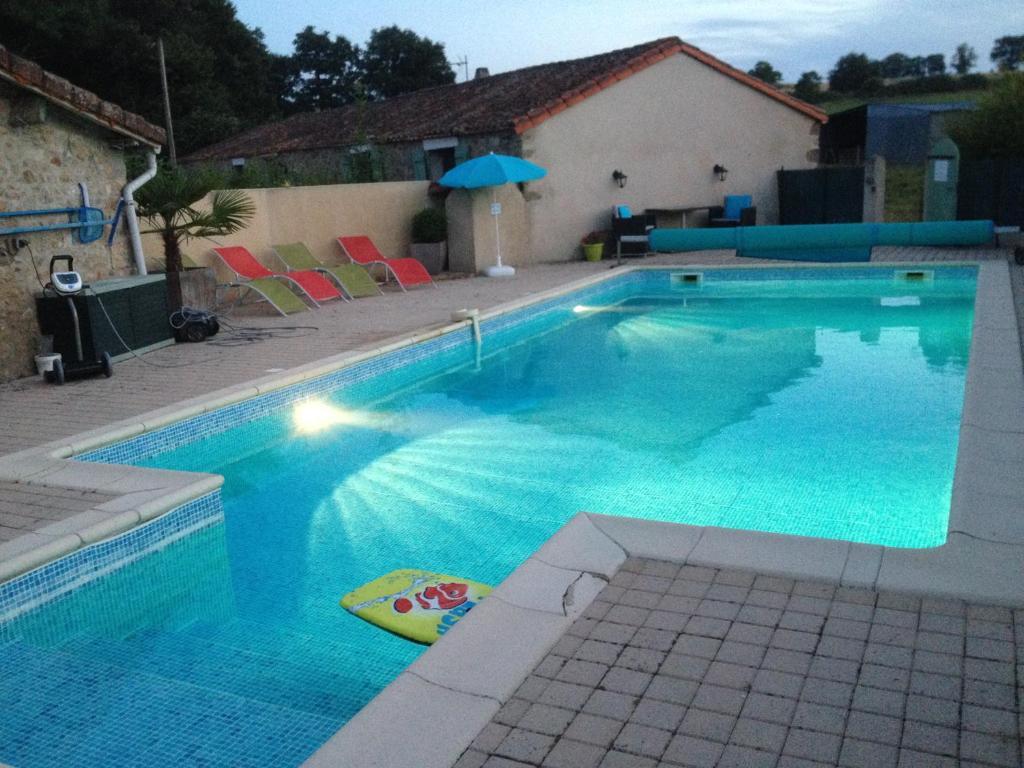The swimming pool at or near La Pomerie