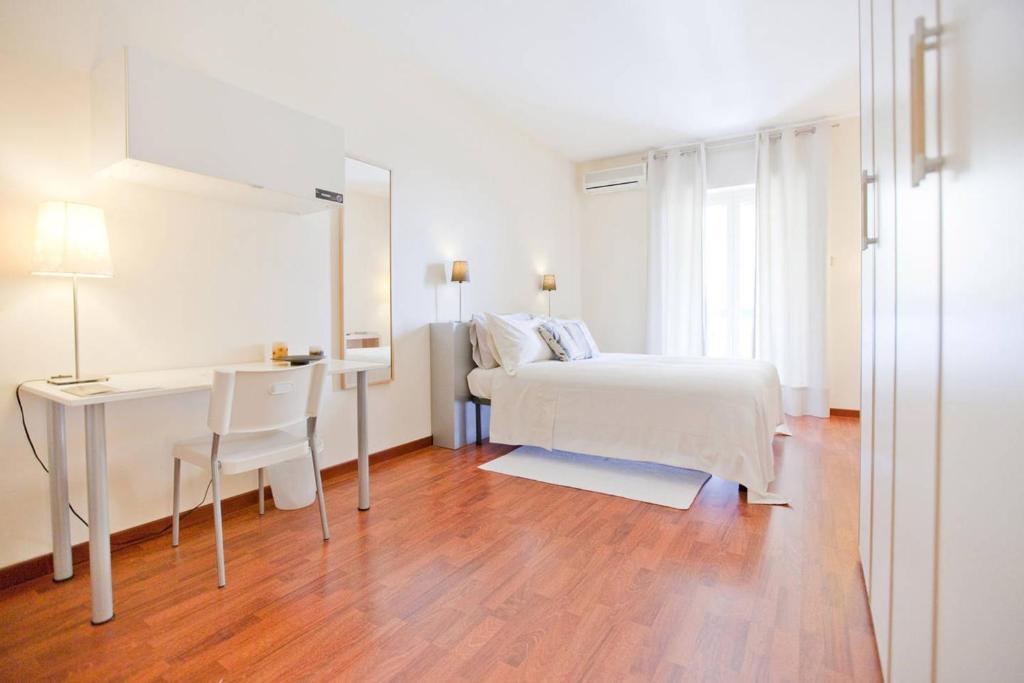 Letto o letti in una camera di Rooms Rent Vesuvio B&B