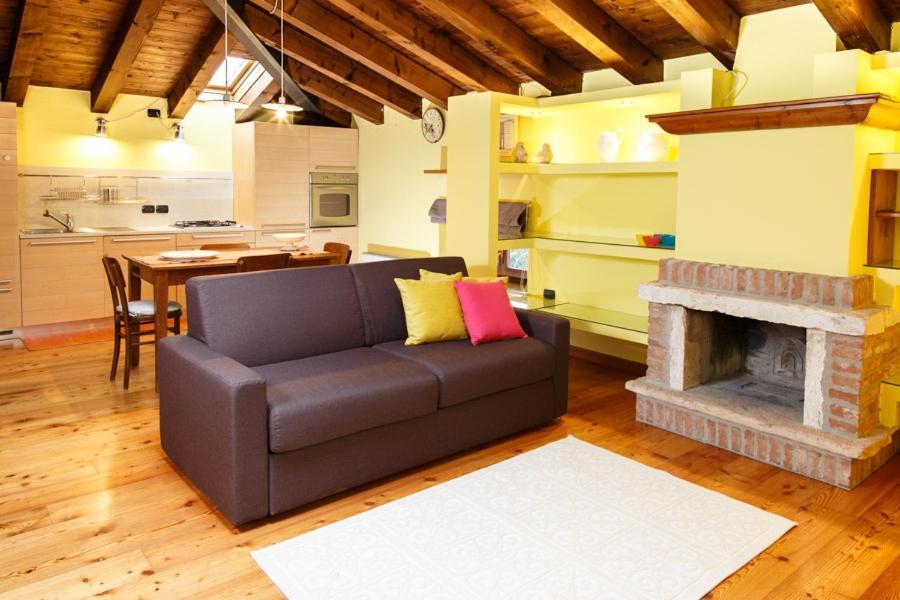 Area soggiorno di Appartamento Topazio