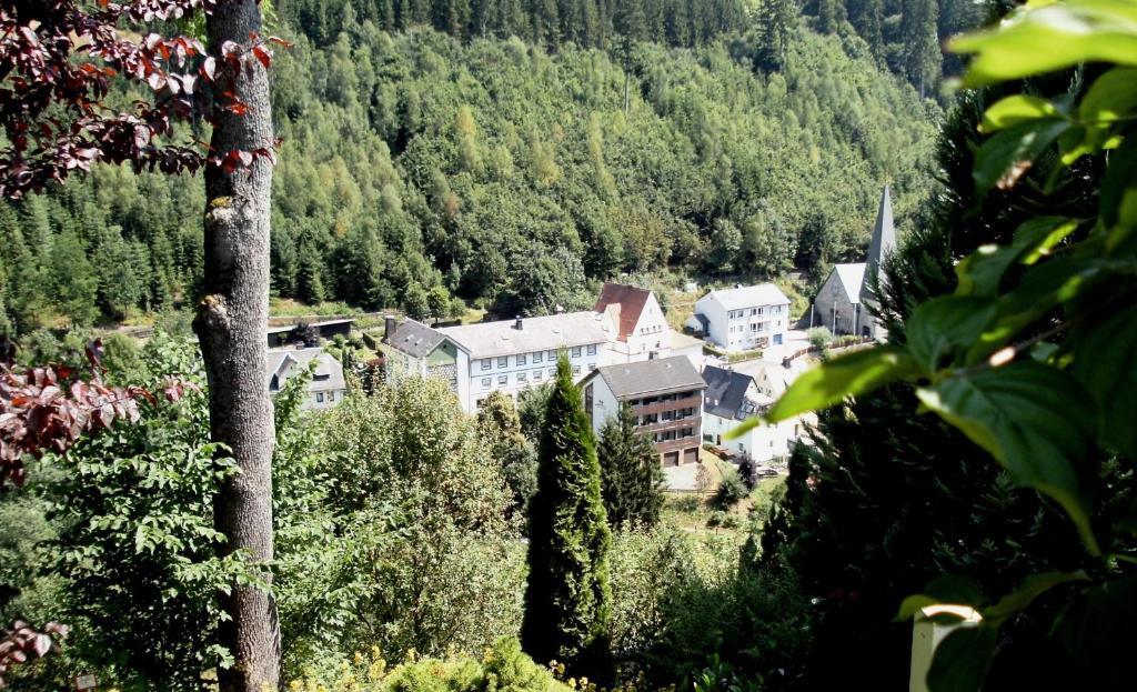 A bird's-eye view of Gasthof Rodachtal mit Gästehaus Katharina