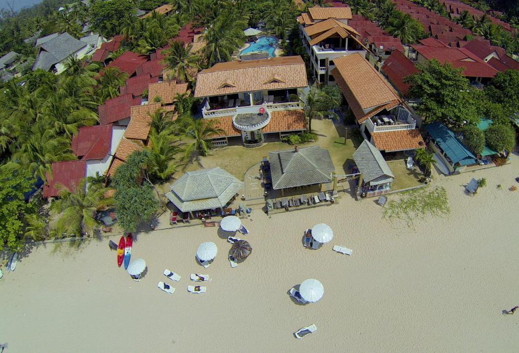 A bird's-eye view of Laguna Beach Club Resort