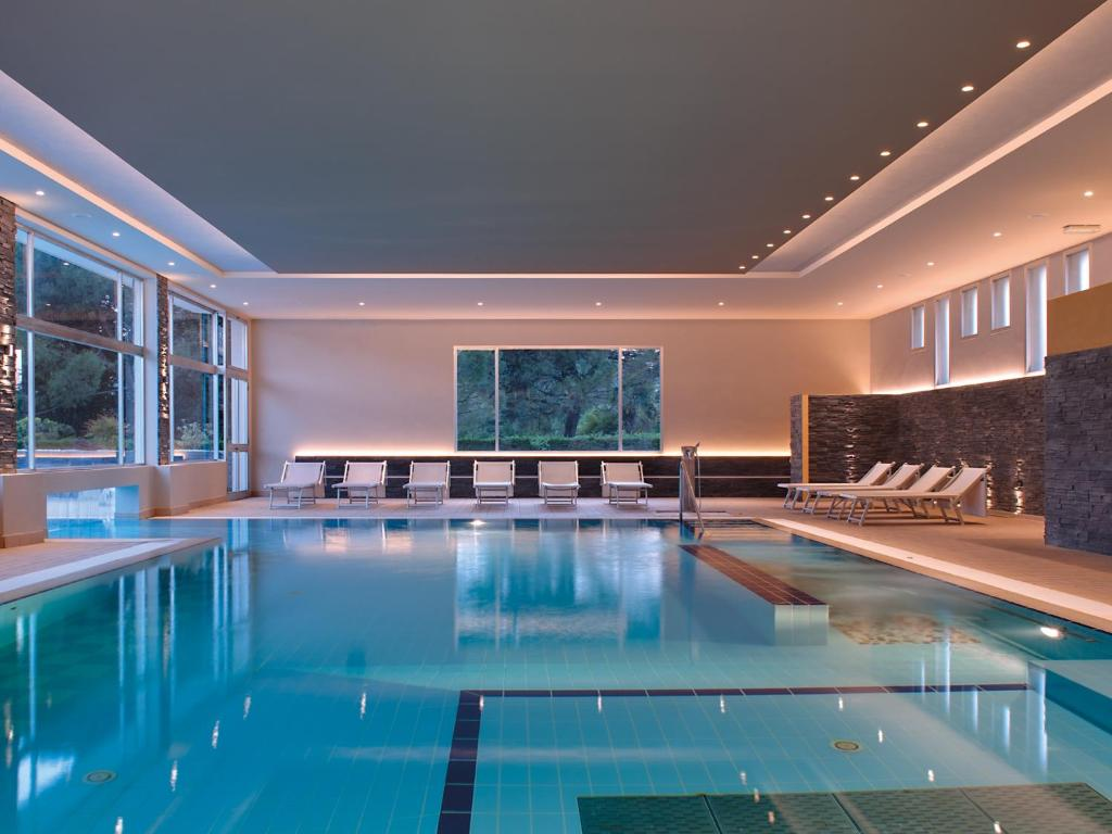 The swimming pool at or near Hotel Terme Marco Polo