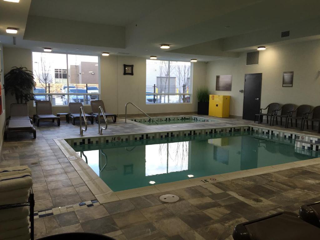 The swimming pool at or near Southfort Inn