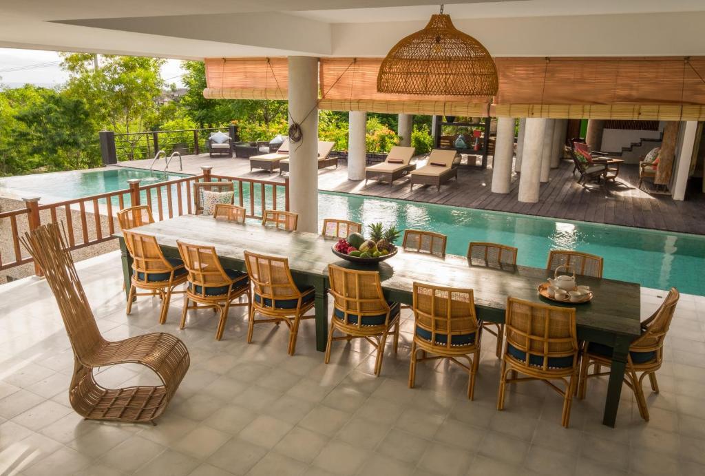 The swimming pool at or near Adila Bali