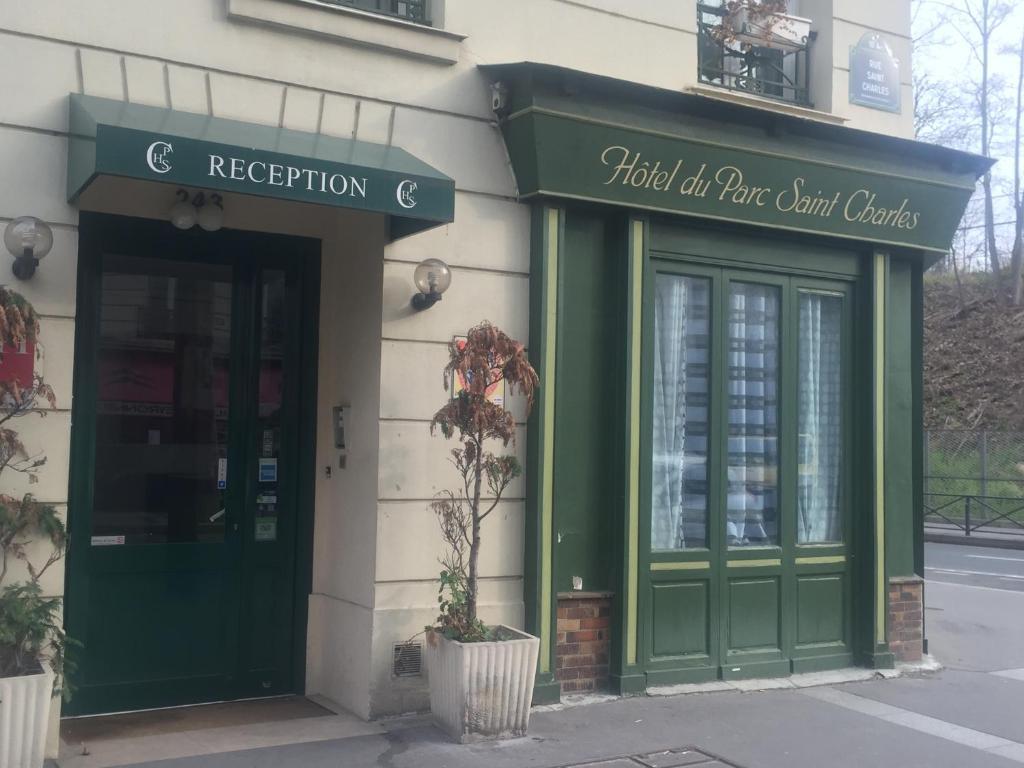 Hotel Du Parc Saint Charles Paris, France