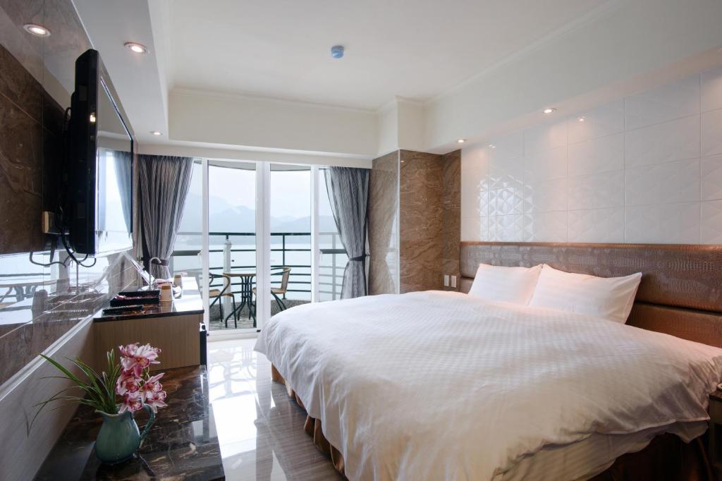 日月潭碼頭水沙連大飯店