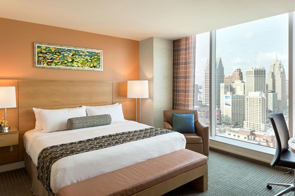 rooms at greektown casino hotel