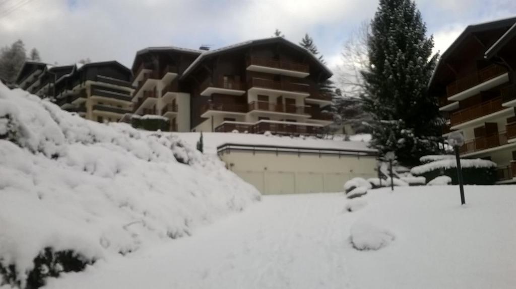 Chalet La Piste Bleu during the winter