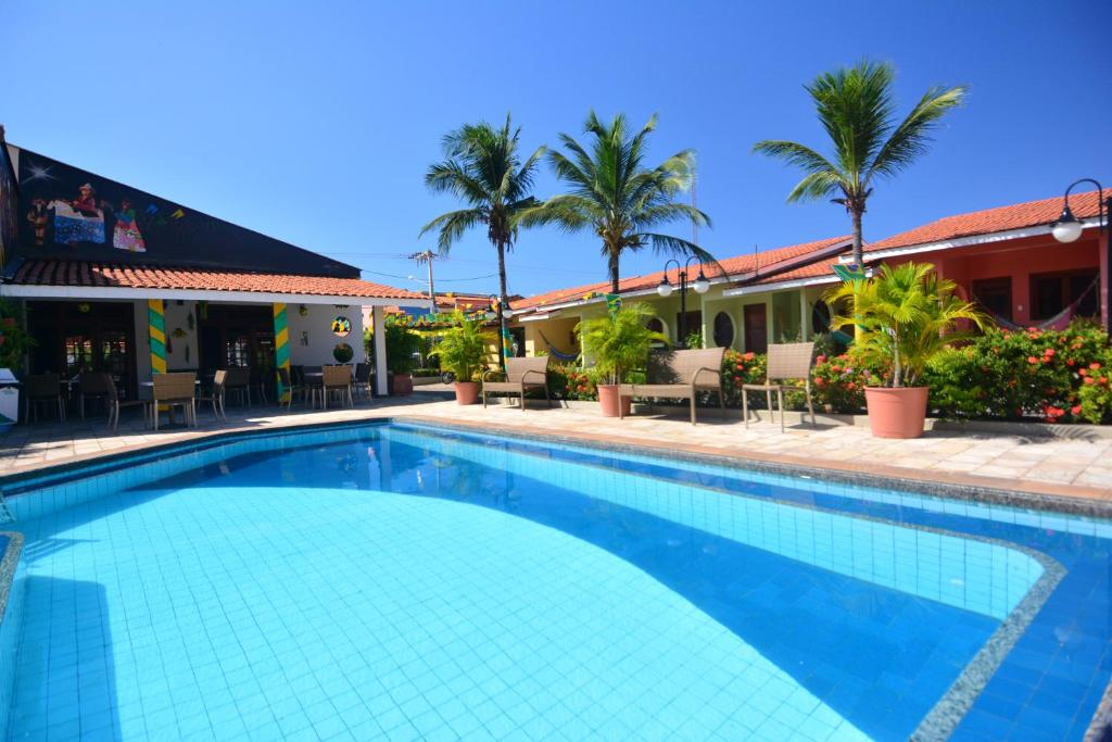 The swimming pool at or near Hotel Pousada do Buriti
