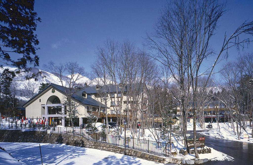 Hakuba Mominoki Hotel during the winter