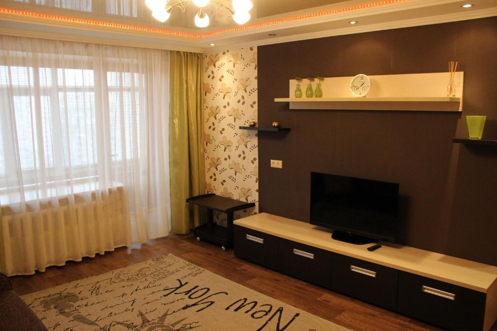 A television and/or entertainment center at Svetlana's Apartments