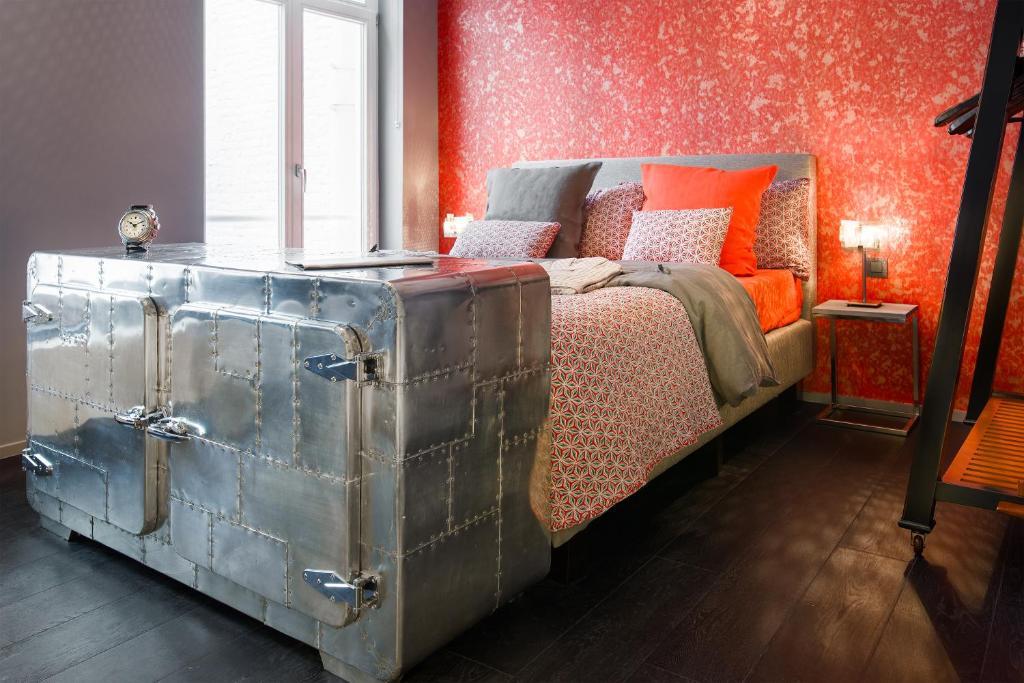 Un ou plusieurs lits dans un hébergement de l'établissement All In One