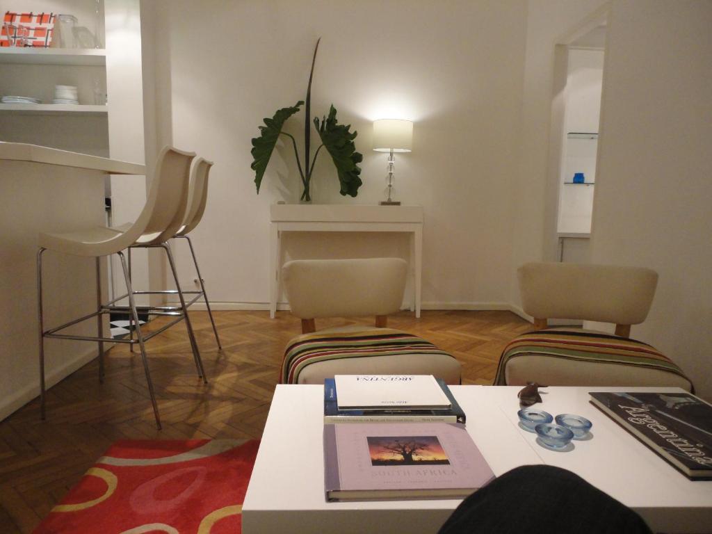 Un lugar para sentarse en Apartamento en Recoleta