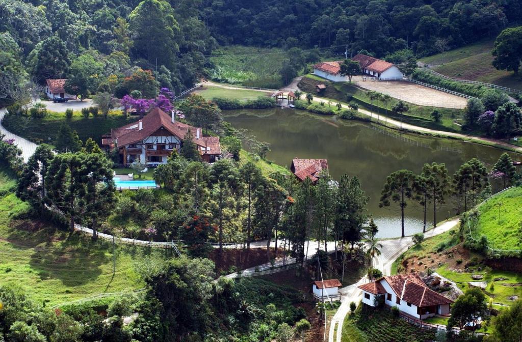 A bird's-eye view of Hotel Rosa Dos Ventos
