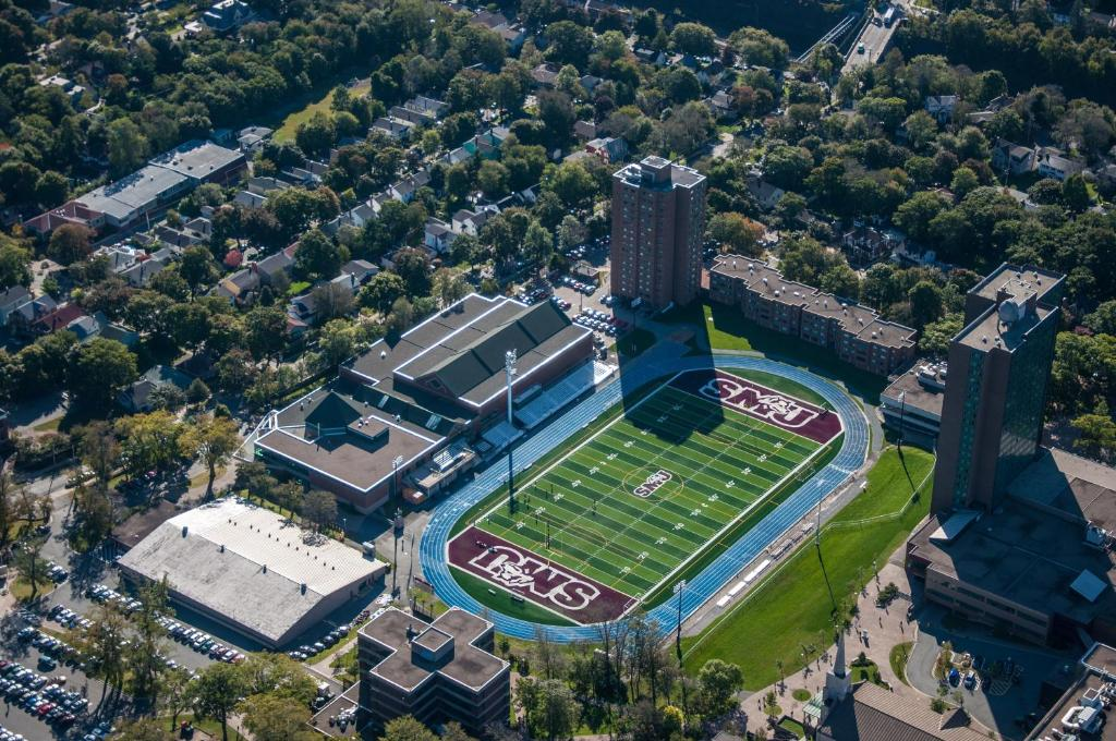 A bird's-eye view of Saint Mary's University Conference Services & Summer Accommodations