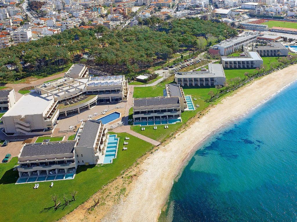 A bird's-eye view of Grand Hotel Egnatia