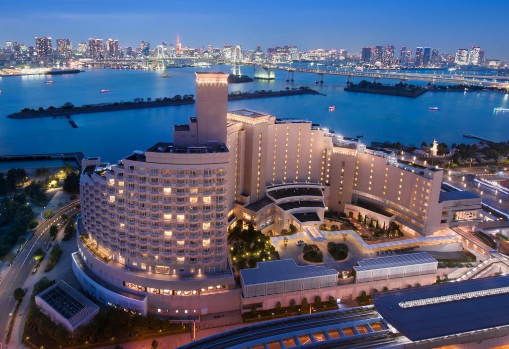 Hilton Tokyo Odaiba dari pandangan mata burung