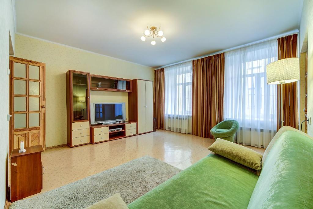 Гостиная зона в Apartment Sadovaya 7