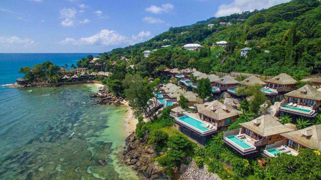 Hilton Seychelles Northolme Resort & Spa a vista de pájaro