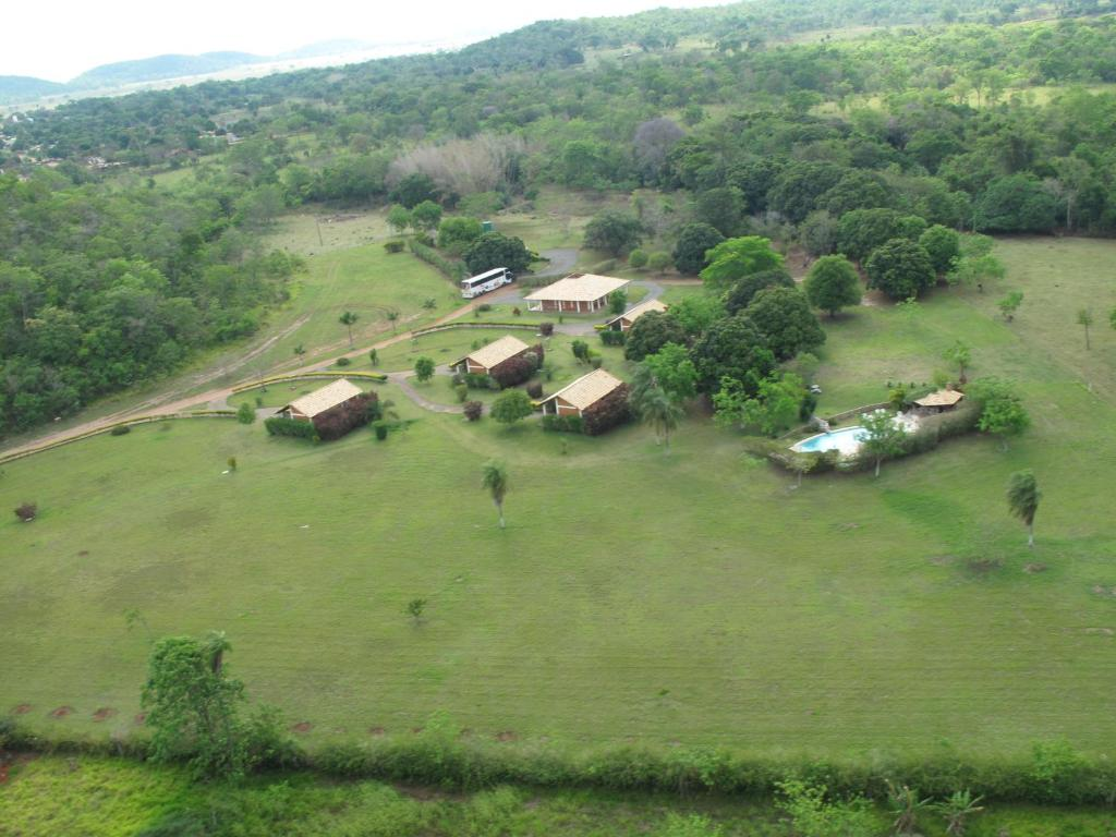 A bird's-eye view of Pousada Moinho De Vento