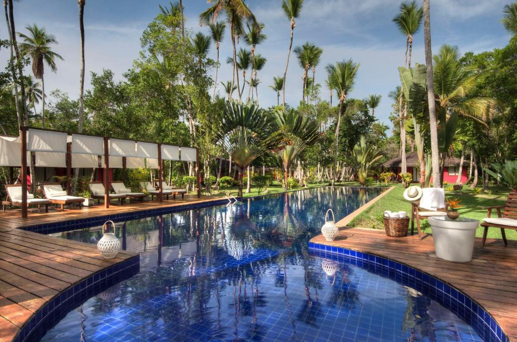 The swimming pool at or near Vila Dos Orixás Boutique Hotel