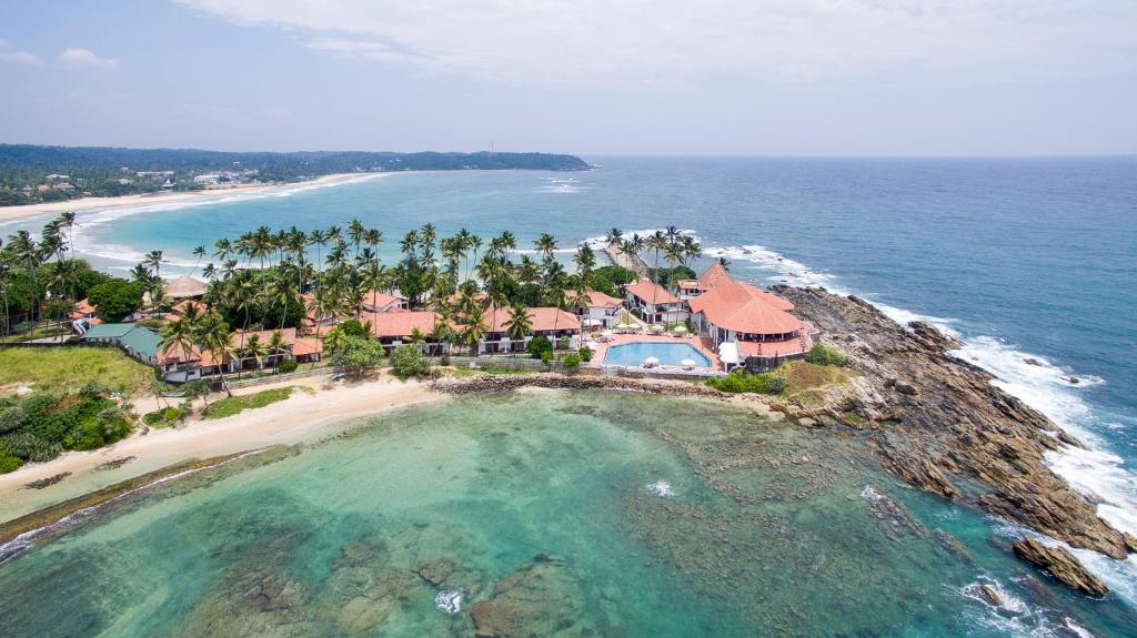 A bird's-eye view of Dickwella Resort and Spa