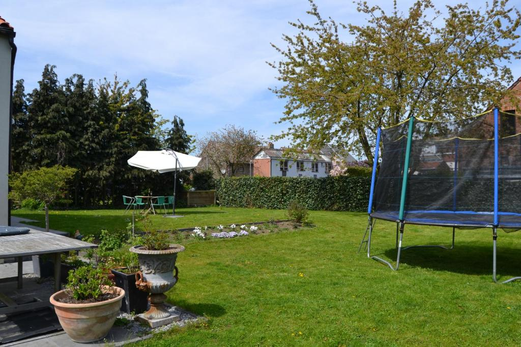 A garden outside Valentise
