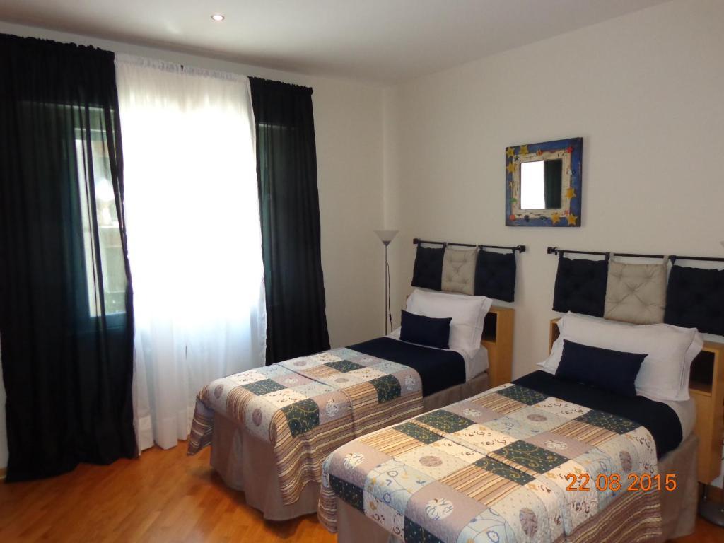 Cama o camas de una habitación en Modern Flat