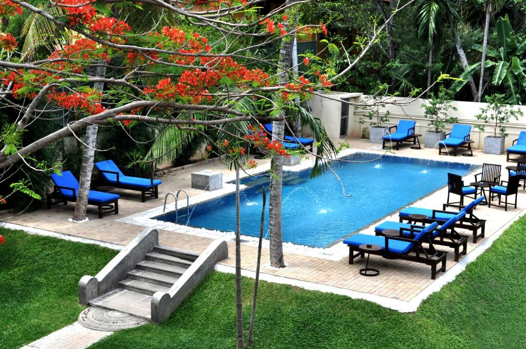 The swimming pool at or near Tranquil Negombo Boutique