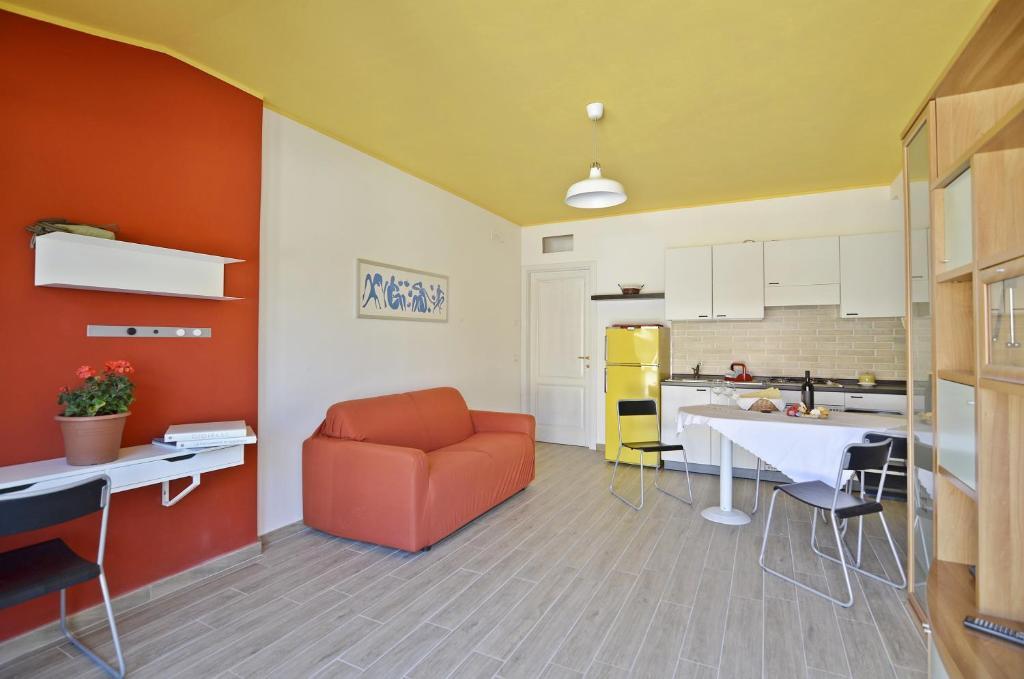 Cucina o angolo cottura di Casa Vacanza Via Sulcis
