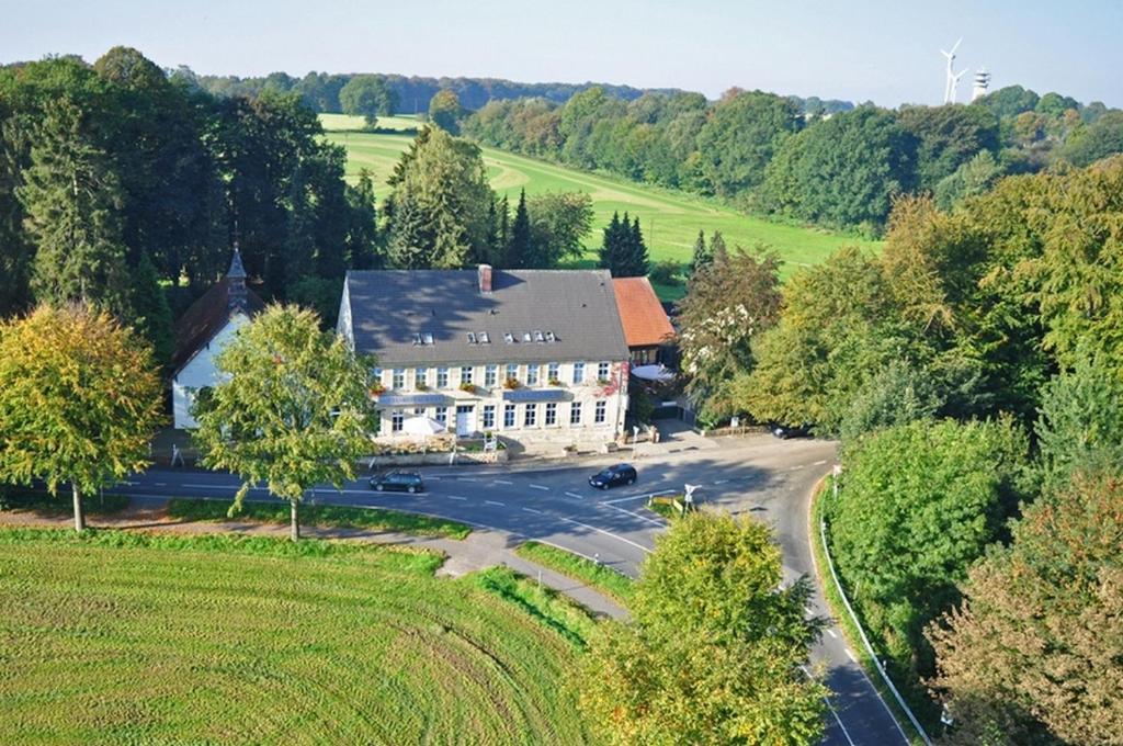 A bird's-eye view of Hotel Marienhof Baumberge