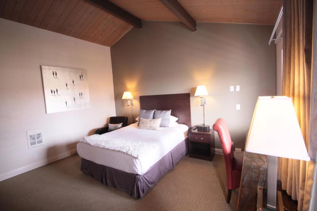 A room at The Presidio.