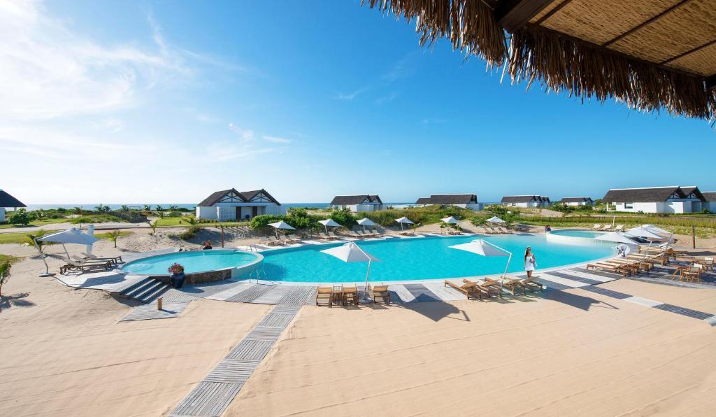 The swimming pool at or close to Diamonds Mequfi Beach Resort