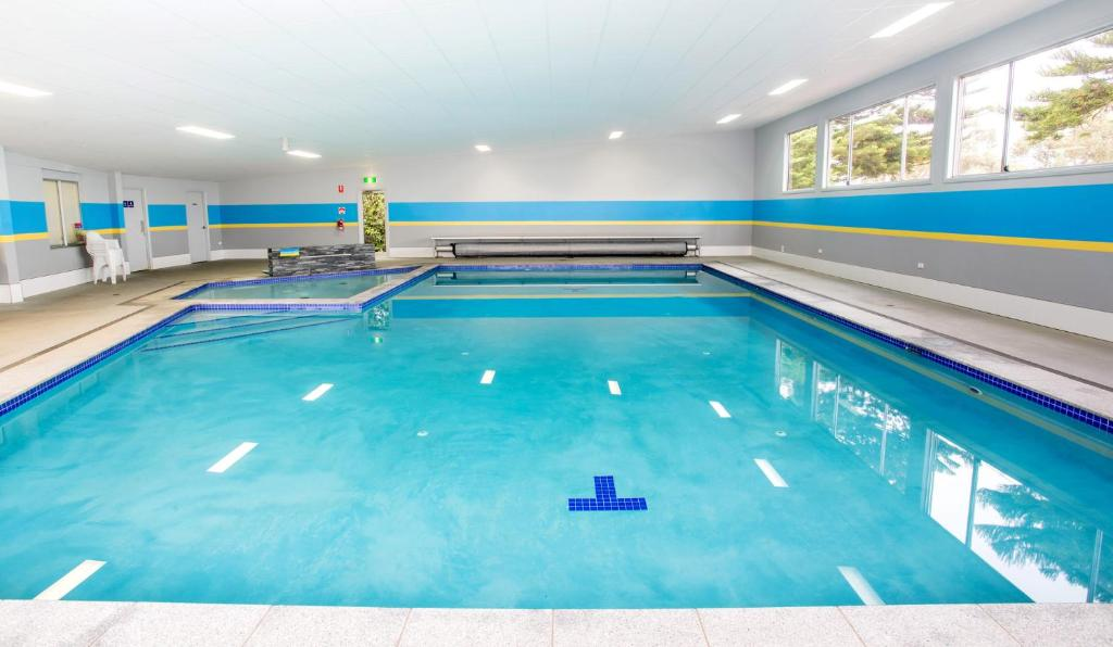 The swimming pool at or near Port Fairy Holiday Park