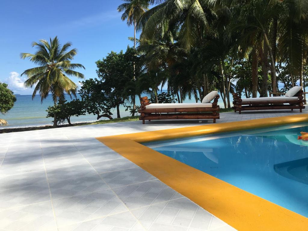 The swimming pool at or near Villa Altea