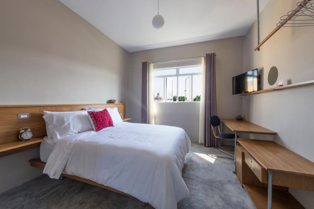 Cama o camas de una habitación en Chaya B&B Boutique