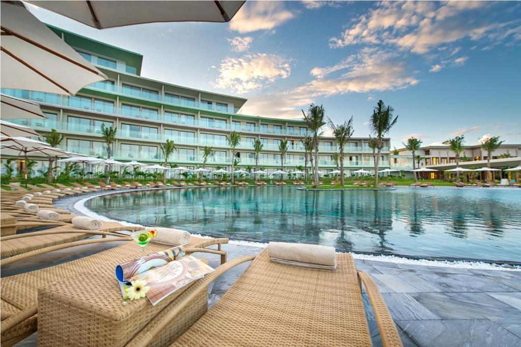 The swimming pool at or near FLC Luxury Hotel Samson