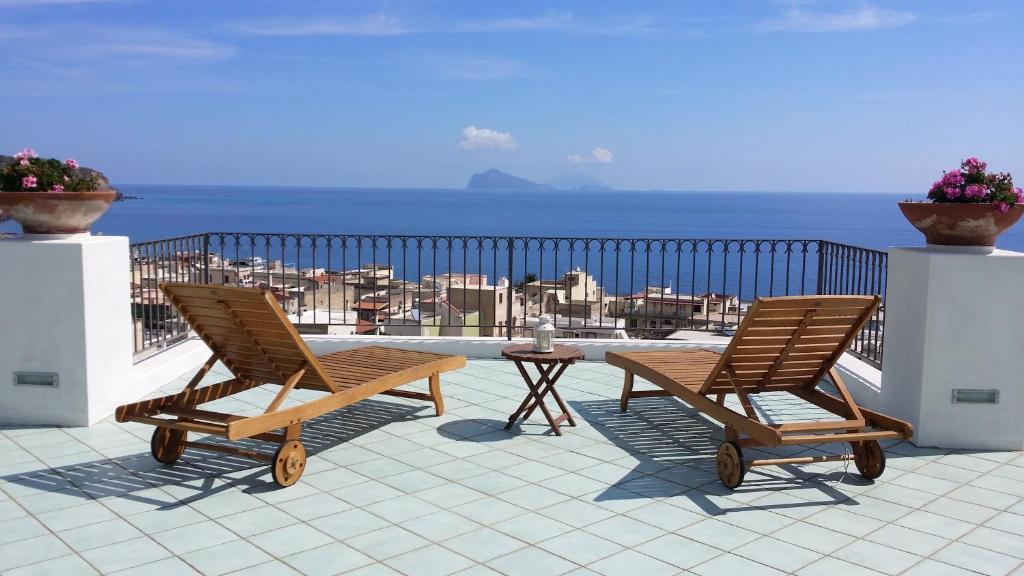 Balcone o terrazza di La Zagara Hotel
