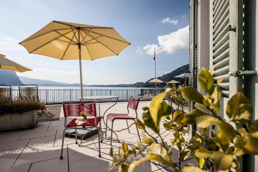 Hotel Terrasse am See Vitznau, Switzerland