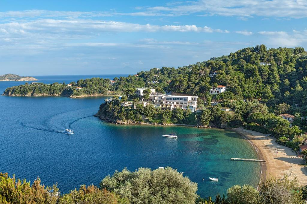 Άποψη από ψηλά του Cape Kanapitsa Hotel & Suites