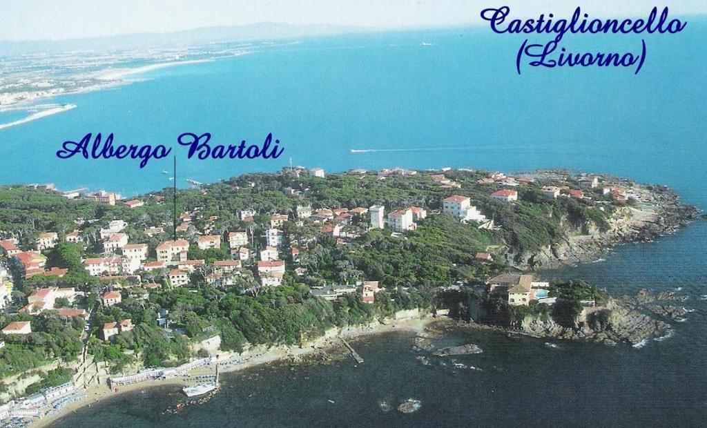 Albergo Pensione Bartoli с высоты птичьего полета