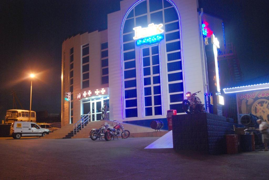 Фасад или вход в Bike Hotel