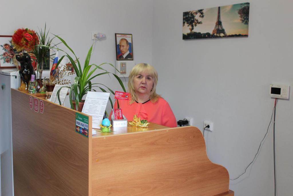 Лобби или стойка регистрации в Гостевой дом Башкирия